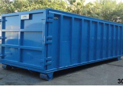 contenedores rolloff para acopio de residuos industriales