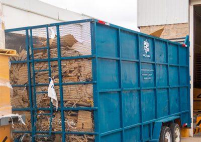 Remolques para recolección de cartón