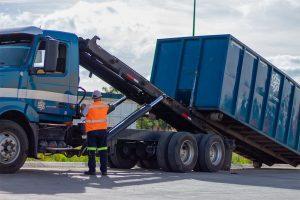 Rollof para manejo de residuos