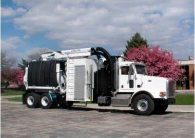Camión Vector Vacuums