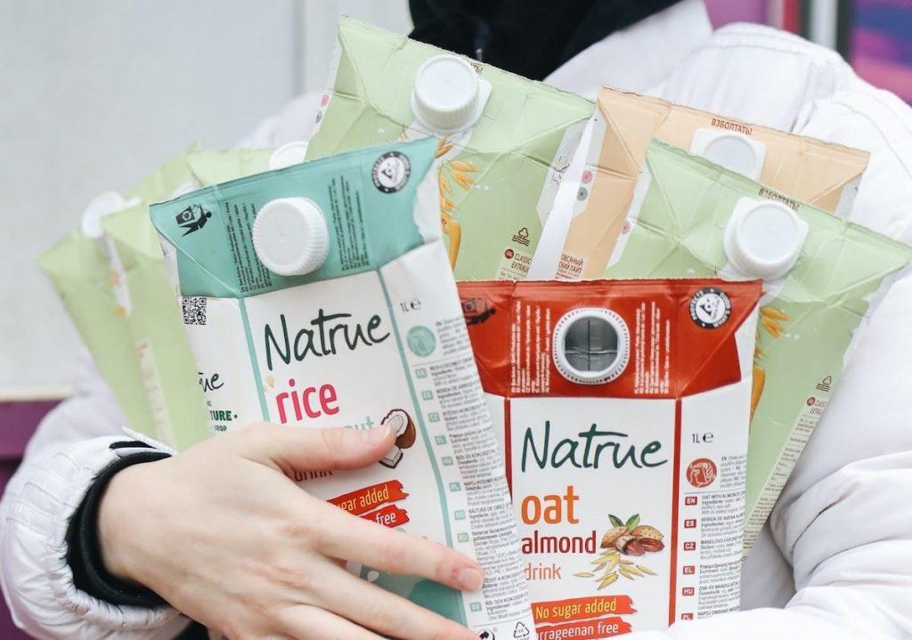 Envases de tetrapack que se pueden reciclar