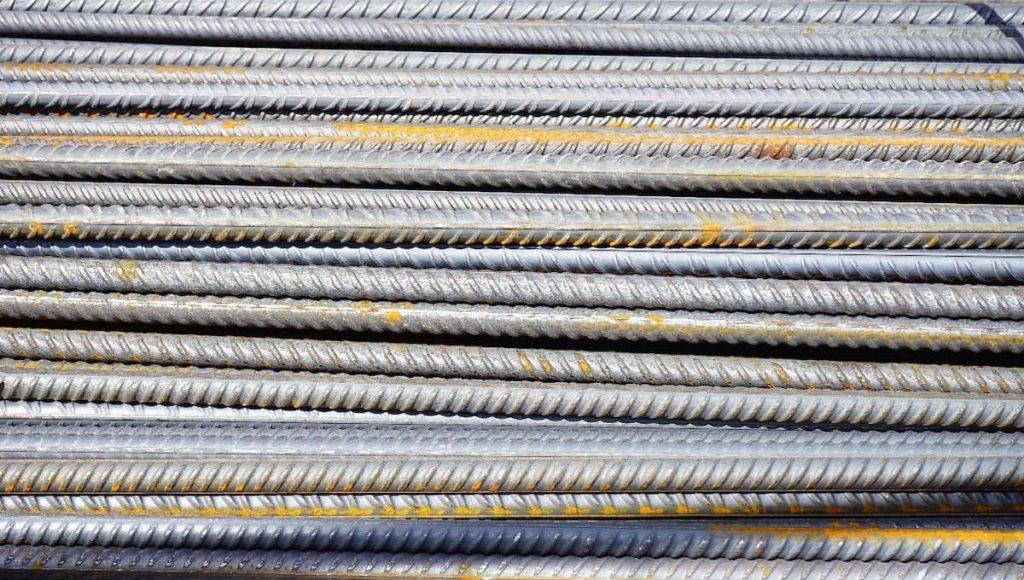 Varillas de acero para construcción hechas con acero reciclado